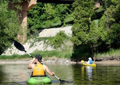 Kayaking the Sheboygan River