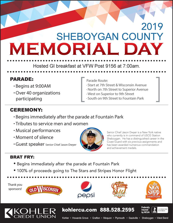 Sheboygan County Memorial Day | Visit Sheboygan